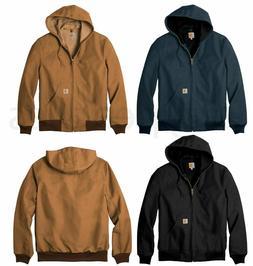 Men's Carhartt Thermal Lined Duck Active Jacket Coat Winter