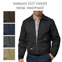 Dickies Men's TJ15 Insulated Lined Quilted Eisenhower Zip Up