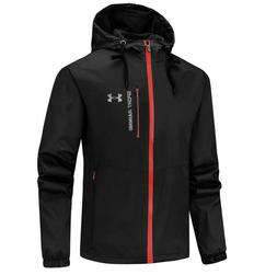 Men's  UA Overlook Jacket Wind Breaker outdoor sports coat h