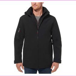 Weatherproof Men's Ultra Tech Stretch Hood Full Zip Jacket