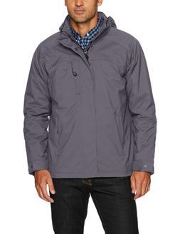 IZOD Men's Water Resistant Midweight Jacket with Polar Fleec