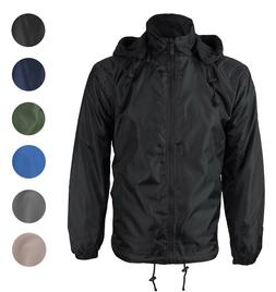 Renegade Men's Water Resistant Polar Fleece Lined Hooded Win
