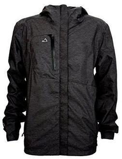 men s waterproof breathable rain jacket w
