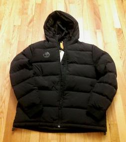 TIMBERLAND MEN'S WATERPROOF PUFFER JACKET BLACK ALL SIZES
