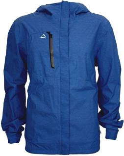 Paradox Men's Waterproof Rain Jacket - Cobalt Blue New!