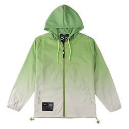 Men's Waterproof Windbreaker Zipper Jacket Hoodie Light Spor