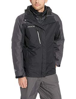 Columbia Men's Whirlibird Iii Interchange Jacket, Black, Lar