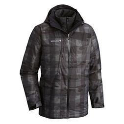 Columbia Men's Whirlibird Interchange Jacket, Large, Black C