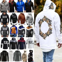 Men's Winter Pullover Hoodie Warm Hooded Sweatshirt Coat Jac