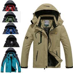 Men's Winter Ski Jackets Coats Snow Waterproof Windbreaker F