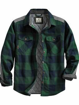 Legendary Whitetails Men's Woodsman Quilted Shirt Jacket