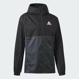 Men Adidas Soccer Tiro 17 Rain Jacket Black/Grey  AY2889