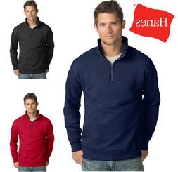 Hanes Men Sweatshirt Pullover Jacket Nano Premium Lightweigh
