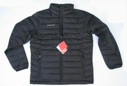 Columbia Men Trail Puffer Thermal Coil Jacket color Black Si