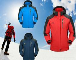 Men Waterproof Sports Hiking Jacket Winter Ski Outdoor Rain