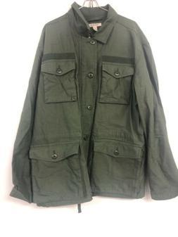 Goodthreads Mens 4-Pocket Military Jacket, XL