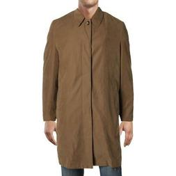 London Fog Mens Brown Winter Jacket Coat Outerwear 40R BHFO