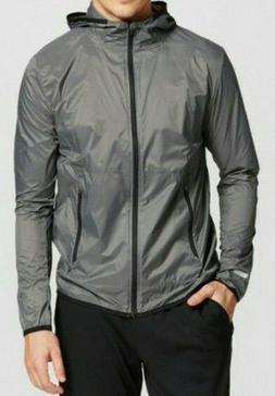 Mens C9 Champion Light Weight Run Jacket W/Hood Size Extra L