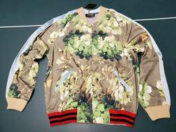 Mens Karter Collection Cesar Souvenir Floral Bomber Jacket F