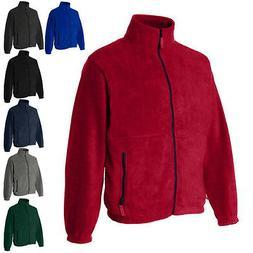 Sierra Pacific Mens Coats Full-Zip Fleece Jacket 3061