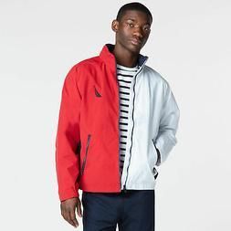 mens colorblock lightweight jacket