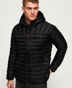 Superdry Mens Core Down Hooded Jacket