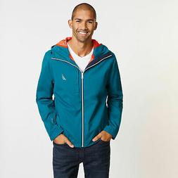 mens discovery rainbreaker jacket