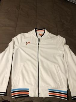 Puma Men's Golf Jacket New Tennis Soccer Track Small Pullo
