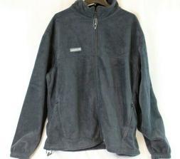 Columbia Mens Granite Mountain Fleece Black Jacket Size XXL