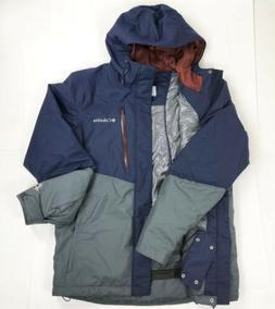 Men's Columbia Hardpack Ski Jacket Omni Heat Medium Multi-