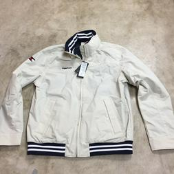 Mens tommy hilfiger harrington coat jacket Medium beige tan