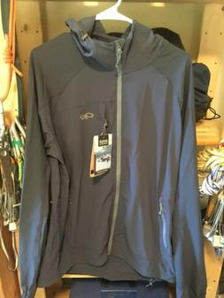 Outdoor Research Mens Hooded Ferrosi Jacket, Large
