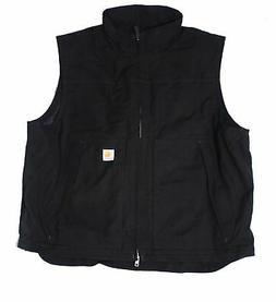 Carhartt Mens Jacket Black Size 2XL Full-Zip Thinsulate Jeff