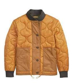Timberland Men's  Jacket Ecoriginal BOMBER Quilted Wheat Y