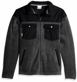 Columbia Mens Jacket Gray Size 4XLT Cascades Explorer Full Z