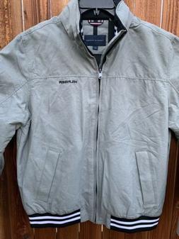 TOMMY HILFIGER Men's Jacket Regatta Water Resistance Gray