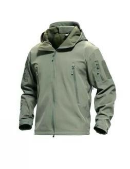 Mens Jackets Military Jacket Softshell Fleece Lining Army Ja