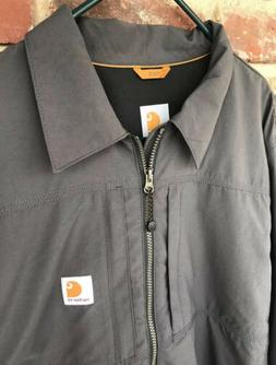 Mens Carhartt L Full Swing Jacket Briscoe Force Rain Defende
