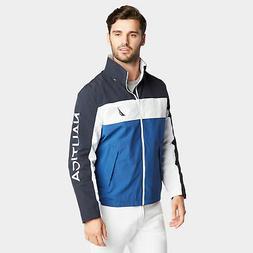 mens lightweight jacket in colorblock