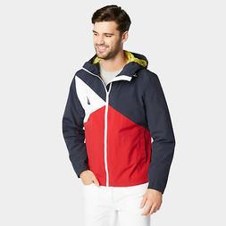 Nautica Mens Lightweight Jacket In Colorblock