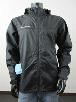 Mens M-L-XL Columbia Weather Drain Hooded Waterproof Windbre