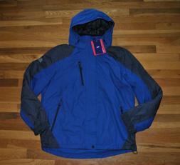Men's ZeroXposur Midweight Coat Jacket SZ XXL BLKBLKSTC St