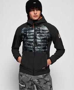 Superdry Mens Mountain Soft Shell Hybrid Jacket