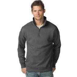 Hanes Men's Nano Premium Lightweight Quarter Zip Jacket, S