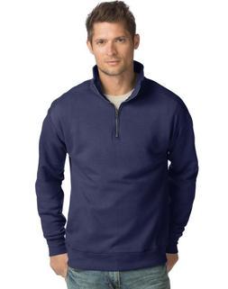 Hanes Men's Nano Premium Lightweight Quarter Zip Jacket N2