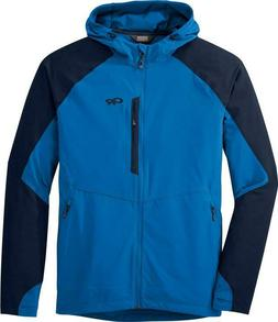 Mens New Outdoor Research Ferrosi Hooded Jacket Sz Small Col
