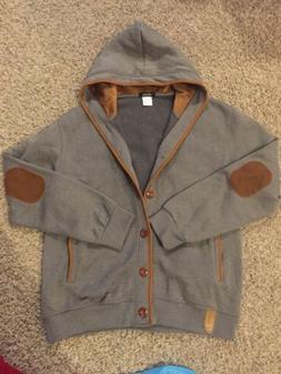 Wantdo Men's NWOT XL Sweatshirt/Jacket Hooded Gray