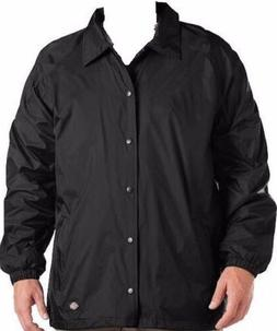 Dickies Mens Nylon Water Proof Windbreaker Coaches Style Sna