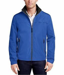 London Fog Mens Packable Full-Zip Windbreaker Jacket