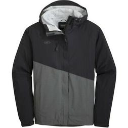 Outdoor Research Mens Panorama Point Jacket Black/Charcoal H